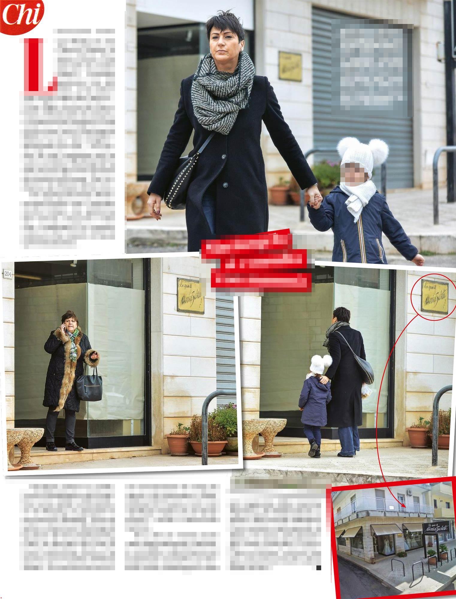 Checco Zalone, passeggiata con fuga... in un negozio di abiti da sposa