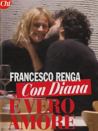 Francesco Renga, passione incontrollabile con Diana