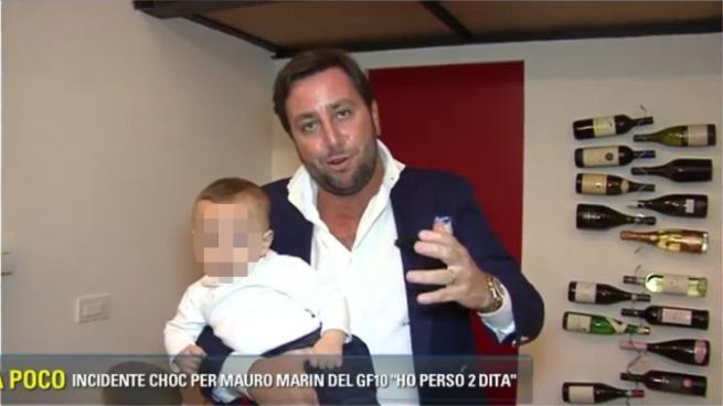 """Roberto Mercandalli, il """"cumenda"""" del Grande Fratello presenta il figlio Tancredi"""