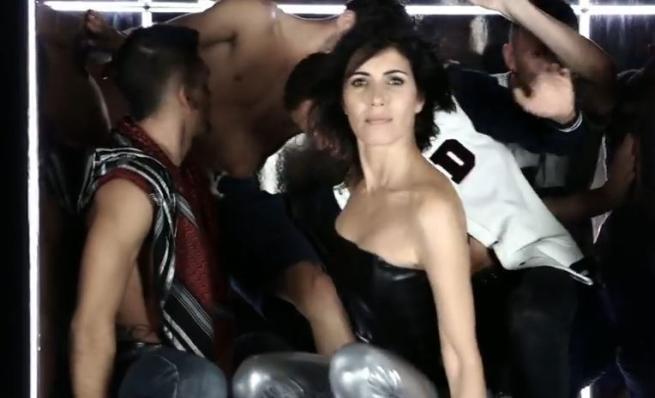 Giorgia scatenata e a tutta dance