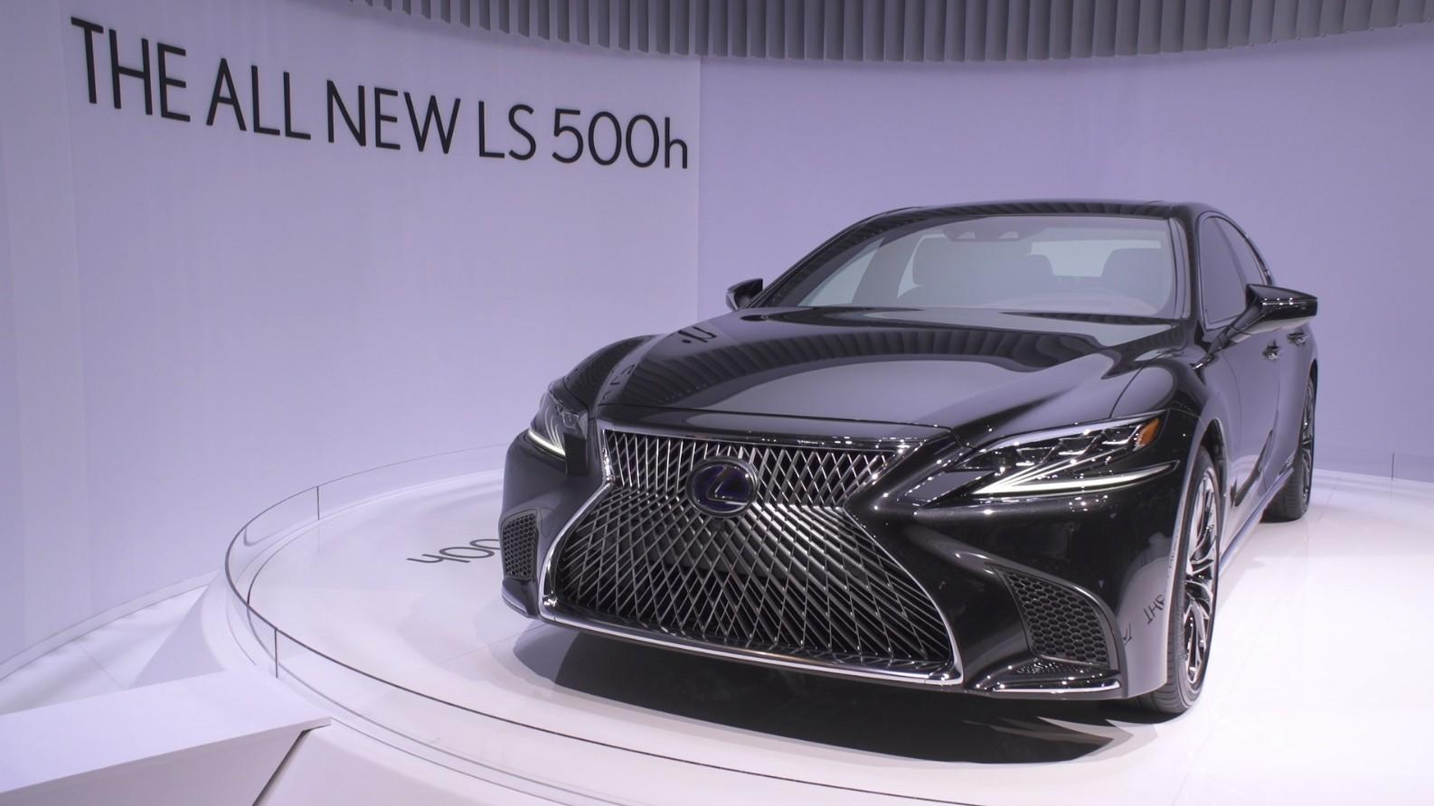 Lexus a Ginevra 2017