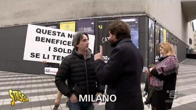 Striscia la Notizia , Valerio Staffelli minacciato di morte