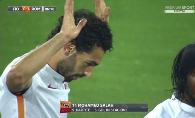 Salah torna a Firenze segna e non esulta