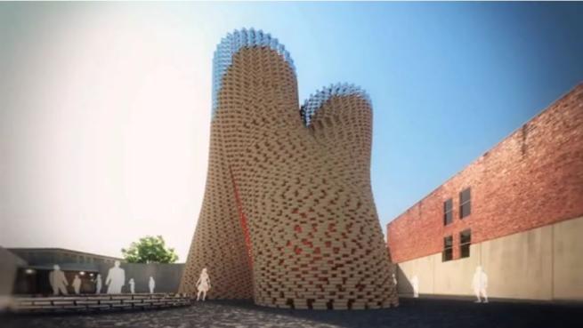 New york l 39 architettura vivente di mais e funghi vedr for New york architettura