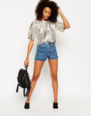 Pantaloni corti in jeans: stili e look