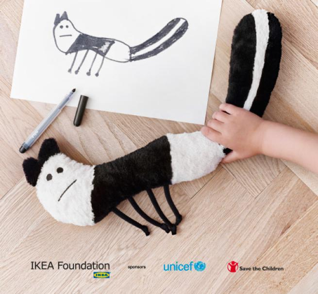 Soft toys for education l 39 iniziativa ikea che trasforma for Ikea cancelletti bimbi