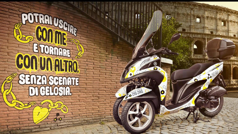 Zig Zag: a Roma lo sharing con 400 scooter