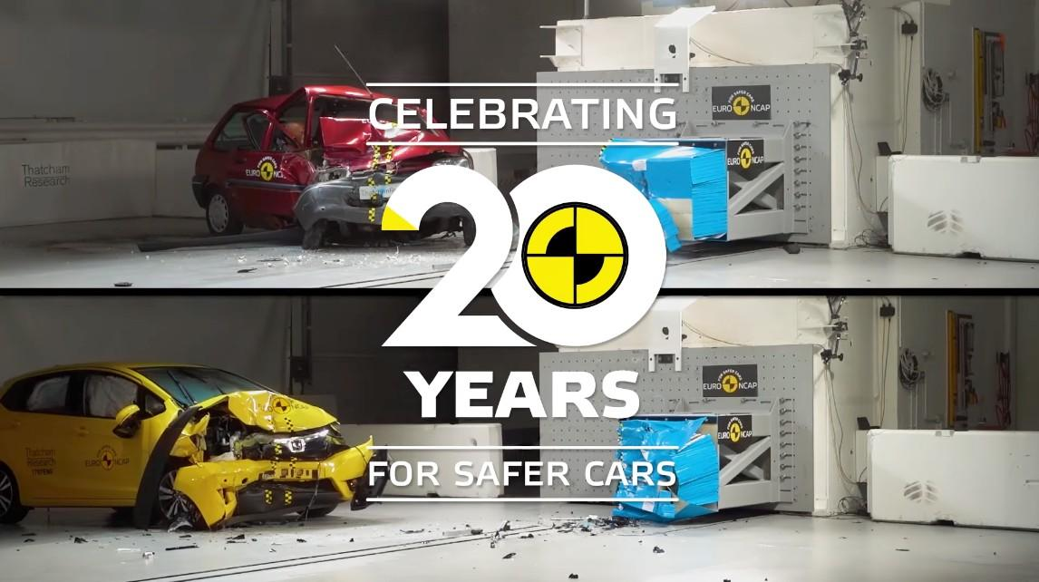 I 20 anni dei test EuroNCAP