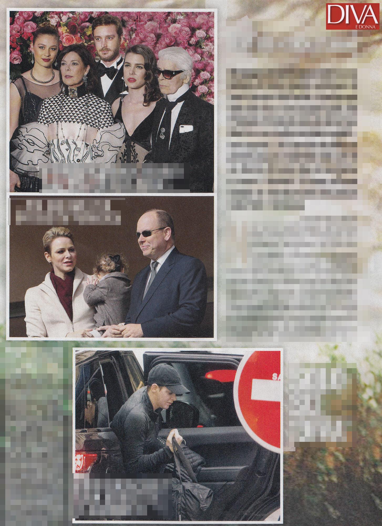 Alberto di monaco moglie e figli in hotel il palazzo in ristrutturazione tgcom24 - Diva e donne giornale ...