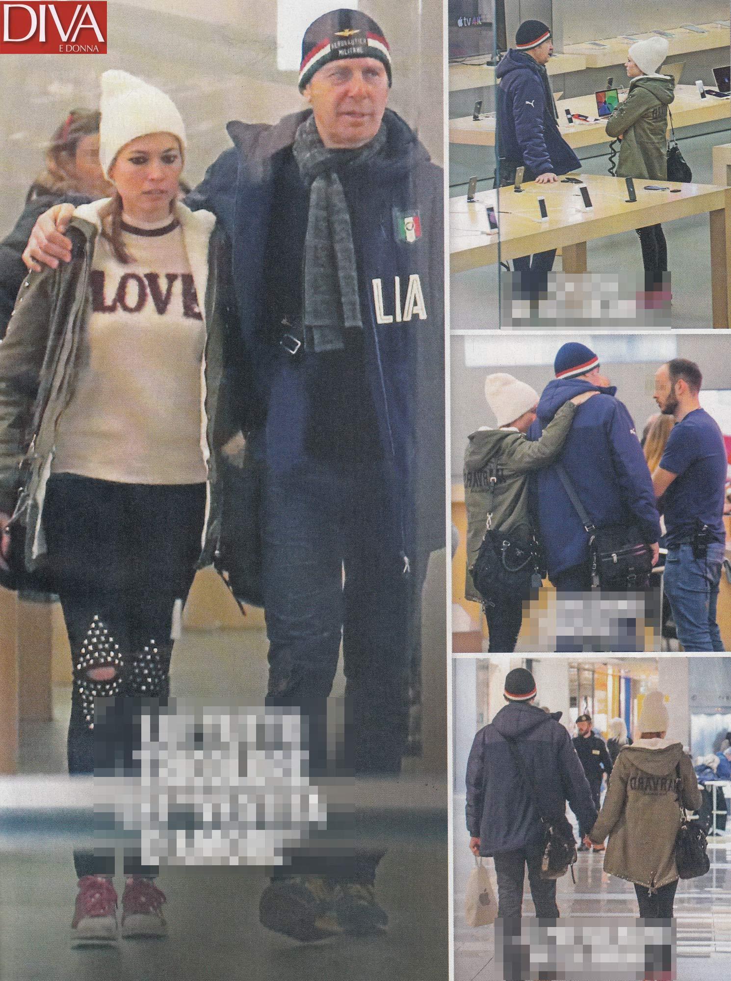 Fabrizio frizzi con la sua carlotta mantovan foto tgcom24 for Diva e donne