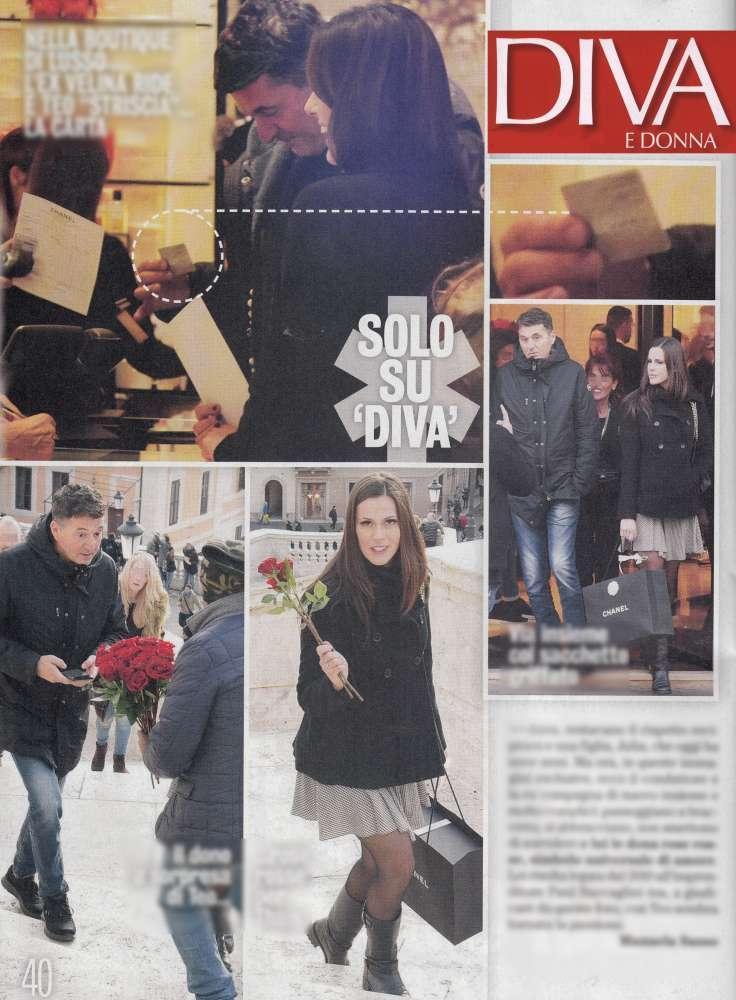 Teo mammucari ritorno di fiamma con l 39 ex velina tgcom24 - Diva e donne giornale ...