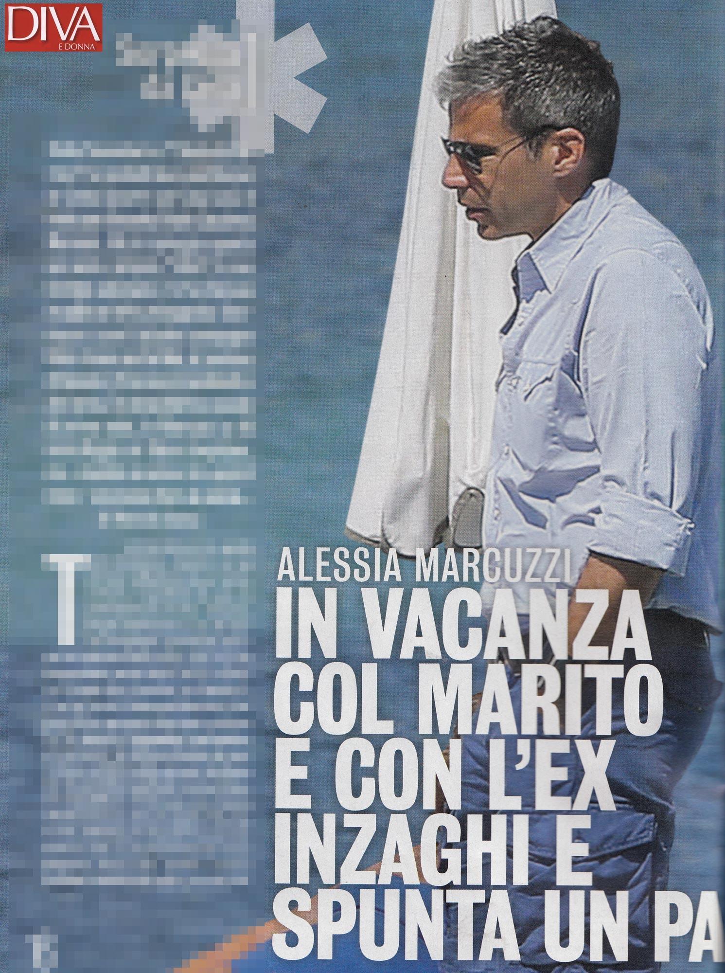 Alessia marcuzzi alza la temperatura con il suo bikini hot - Diva e donne giornale ...