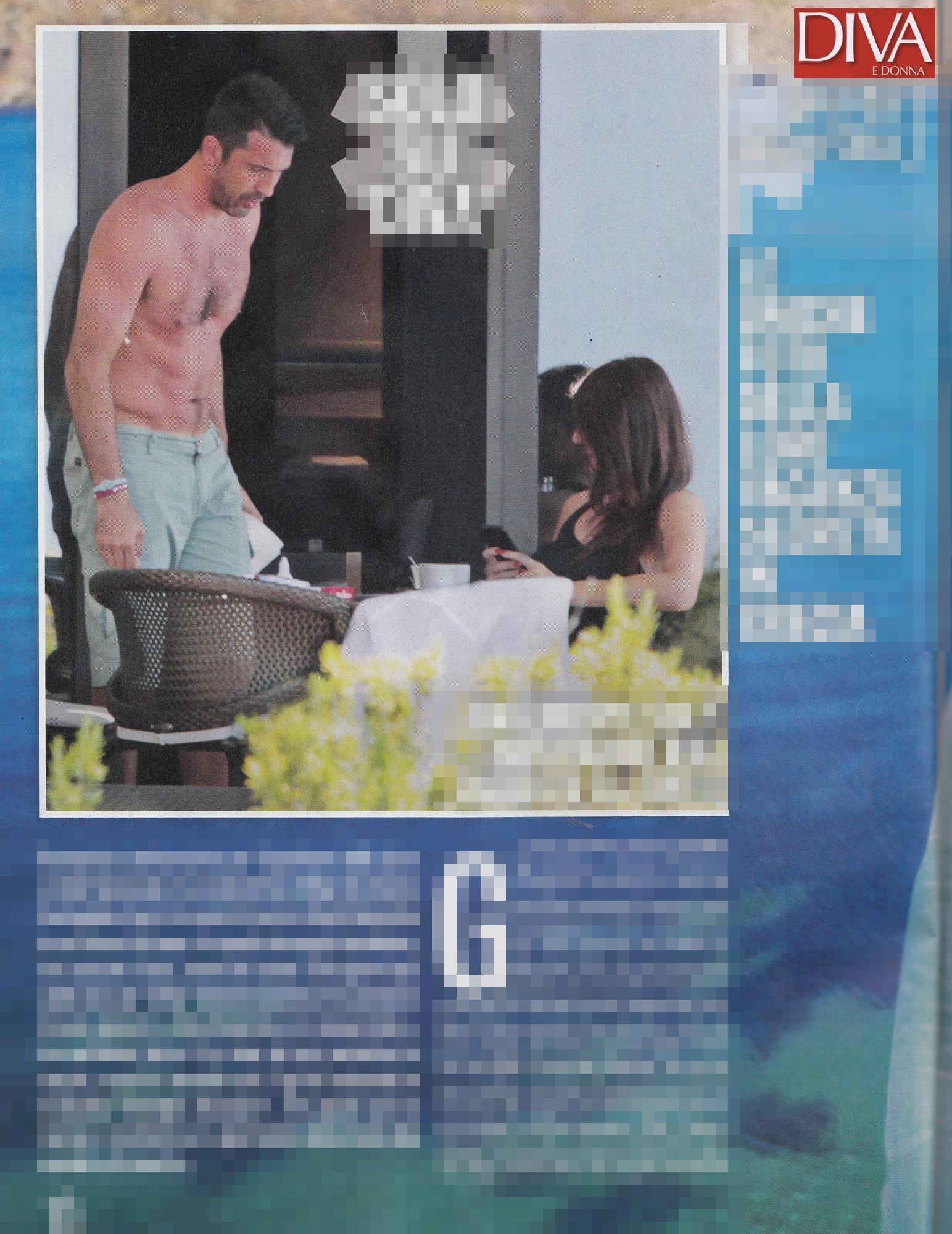 Gigi buffon la grande famiglia tra le braccia di ilaria d - Diva e donne giornale ...