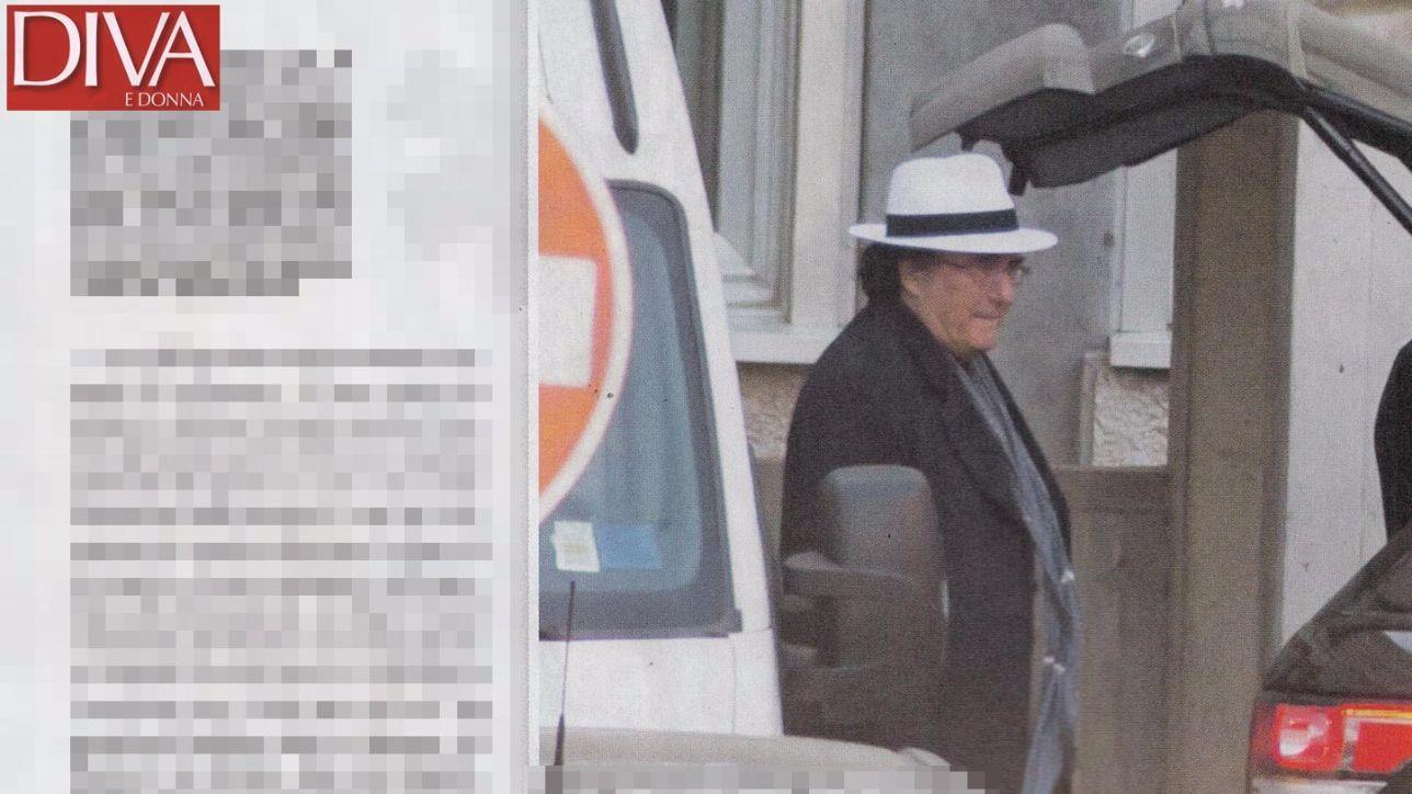 Al bano le prime foto dopo il ricovero foto tgcom24 - Diva e donne giornale ...