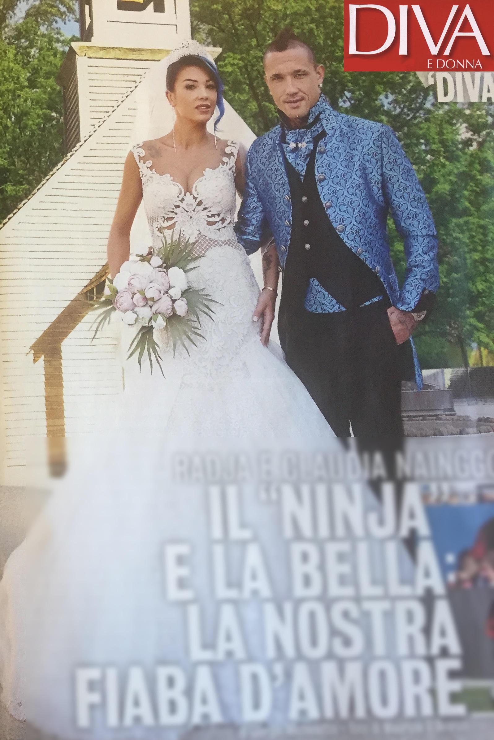 Le (finte) nozze di Nainggolan con la sua Claudia