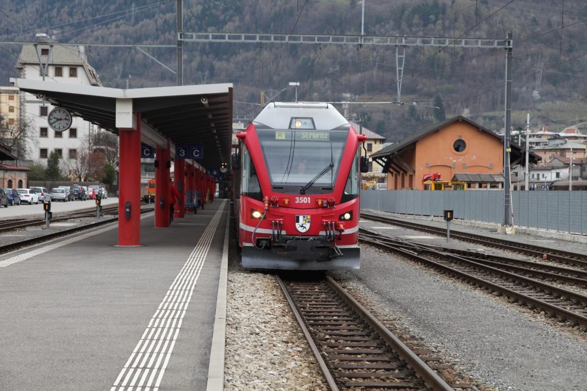 Donnavventura: in viaggio sul trenino rosso del Bernina