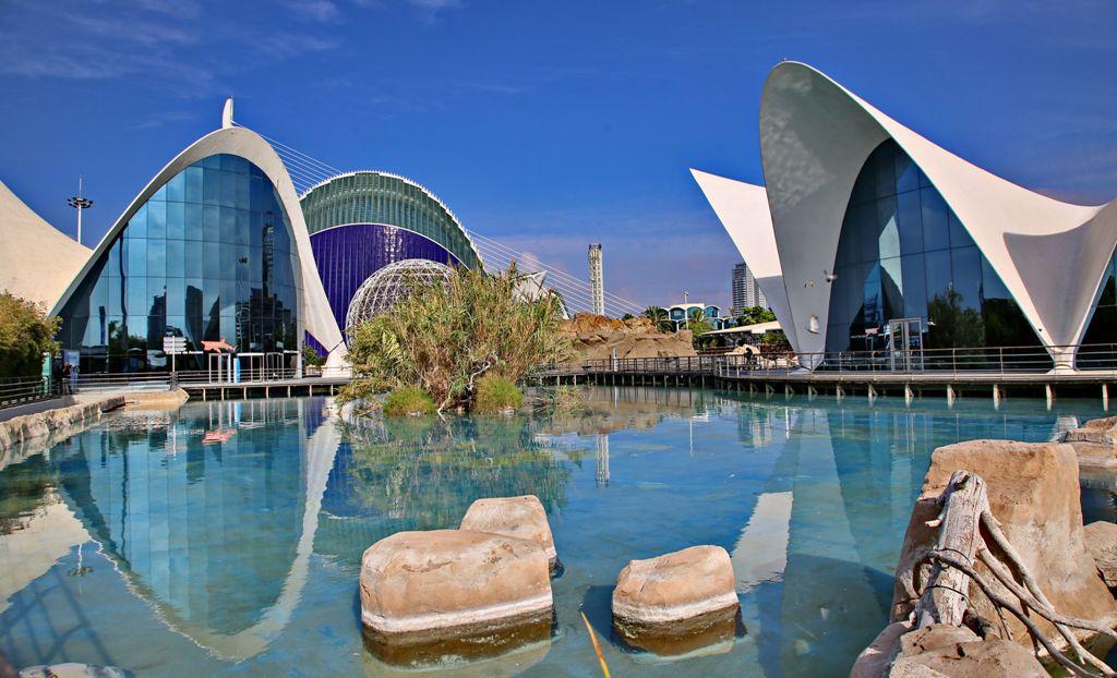 Valencia e la Città dell'arte e della scienza