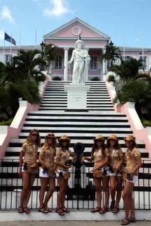 Donnavventura alle Bahamas, i Caraibi più calienti