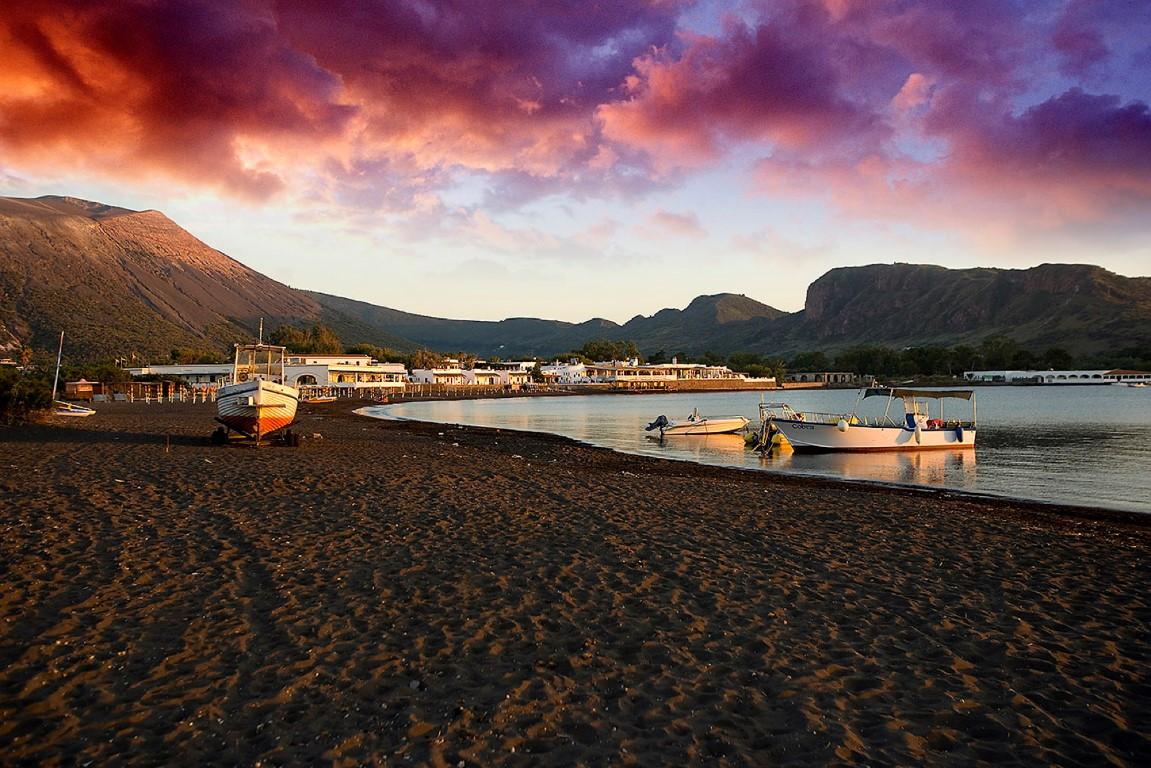 dove tramonta il sole in sicilia