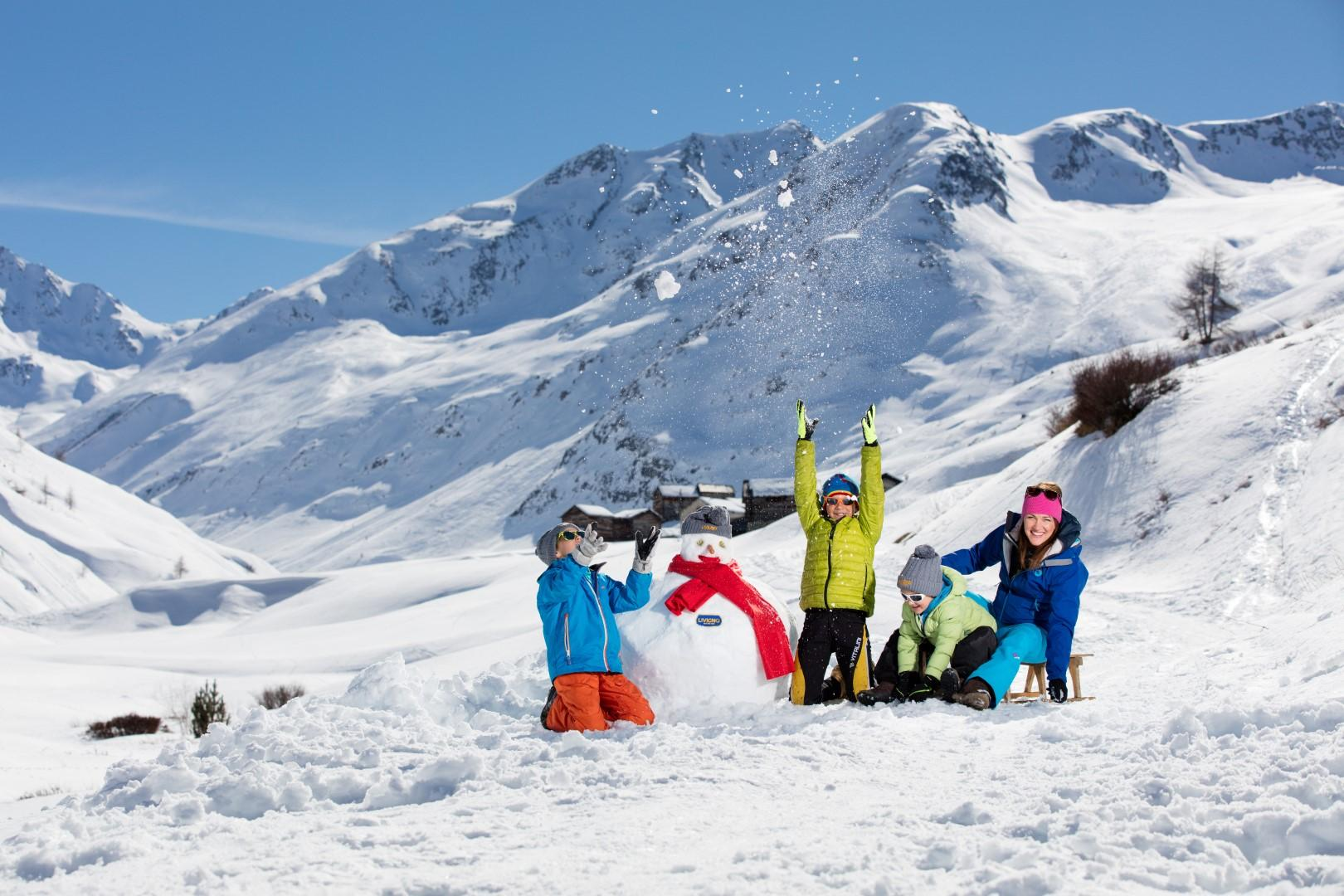 Valtellina: vacanze bianche con mille variazioni