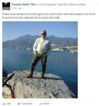 """Salerno, uccide il padre della fidanzata Lei su Facebook: """"Ora non ho più nulla"""""""