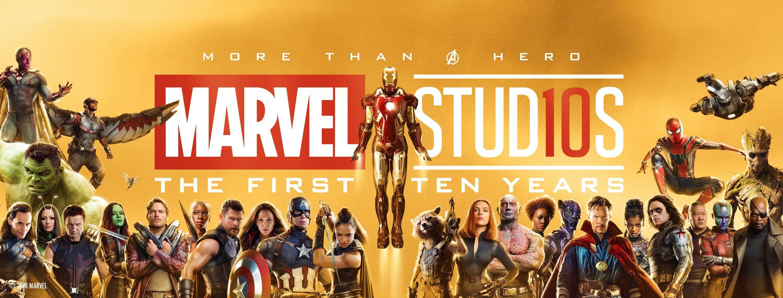 Marvel, storico raduno per i 10 anni