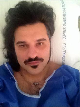 Mauro Marin, l'ex gieffino perde due dita con una sega circolare