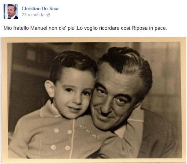 E' morto il compositore Manuel De Sica
