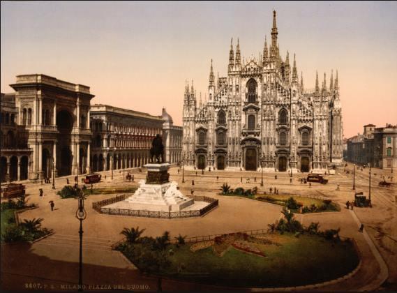 Milano, ma le palme in Piazza Duomo sono una novità?