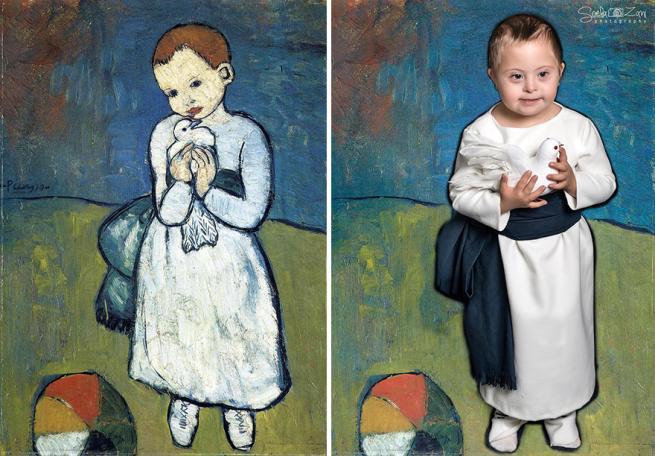 Da Renoir A Picasso I Ragazzi Con Sindrome Di Down Diventano