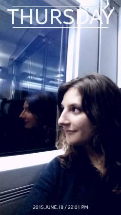 Ragazza tedesca ha la soluzione al caro-casa Vivere in treno e non pagare l'affitto