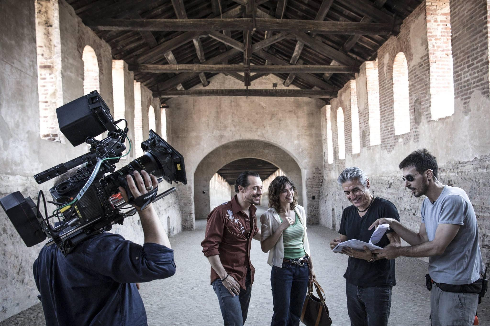 Ligabue, le prime foto dal set di  Made in Italy
