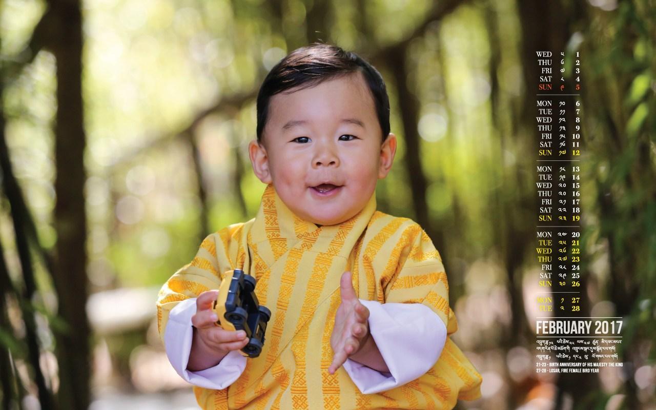 Ecco il piccolo principe del Buthan, l ultimo anti-George d Inghilterra