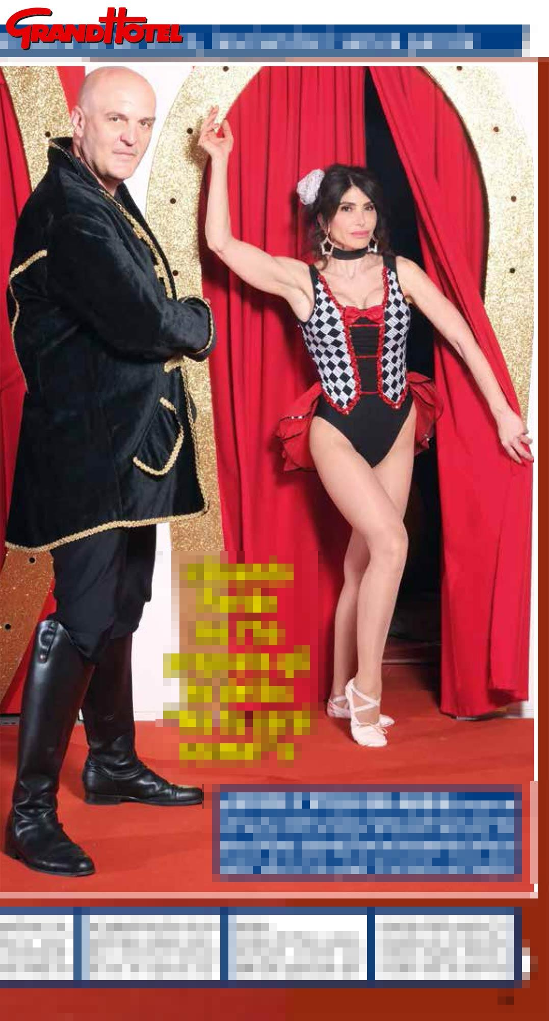 Carmen Di Pietro, come un acrobata sulle pagine di  Grand Hotel