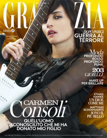 """Carmen Consoli: """"Quell'uomo sconosciuto che mi ha regalato Carlo"""""""
