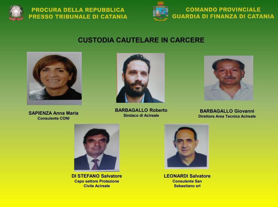 Corruzione: otto arresti in Sicilia, anche il sindaco di Acireale