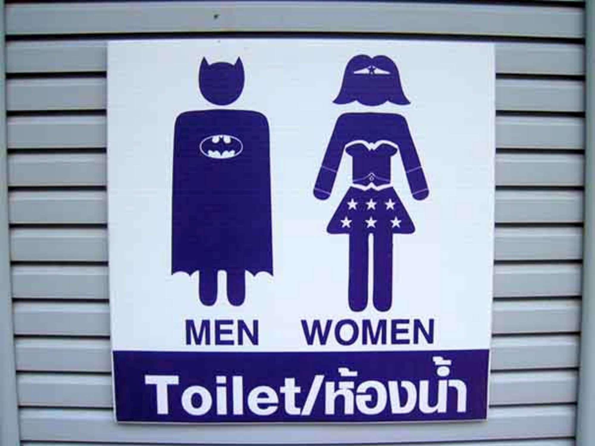Al WC con fantasia: le indicazioni e i cartelli più bizzarri del ...