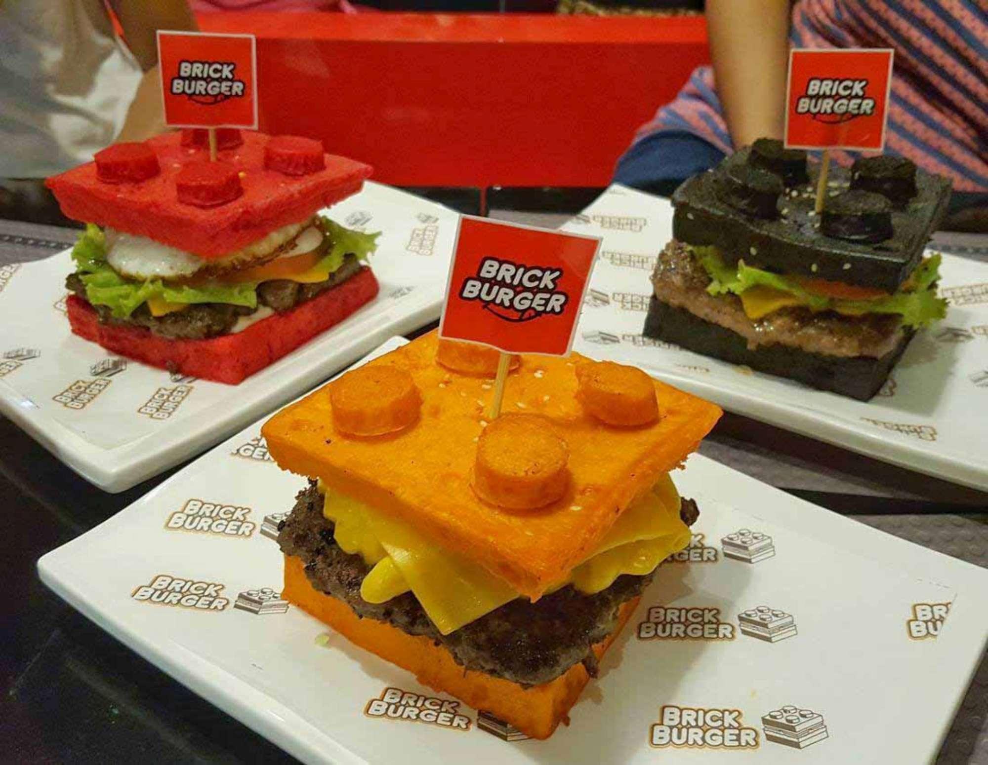 Mattoncini Lego... da mangiare: ecco i Brick Burger