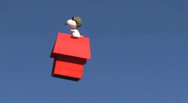 San Diego, al Comic-Con c'è anche il drone di Snoopy volante