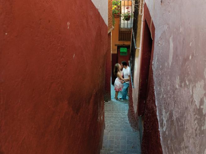 Messico, il suggestivo vicolo del bacio