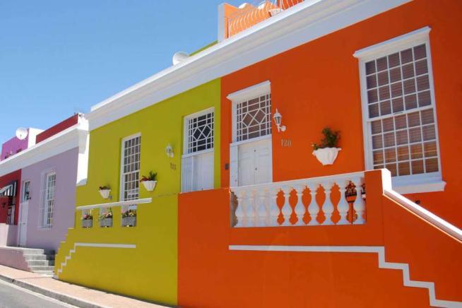 Sudafrica, a Cape Town il quartiere più colorato del mondo