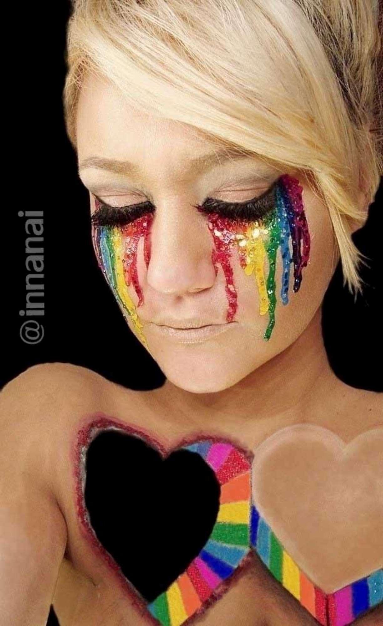 Facce... da non credere: gli eccezionali capolavori di make up di Ines Kus