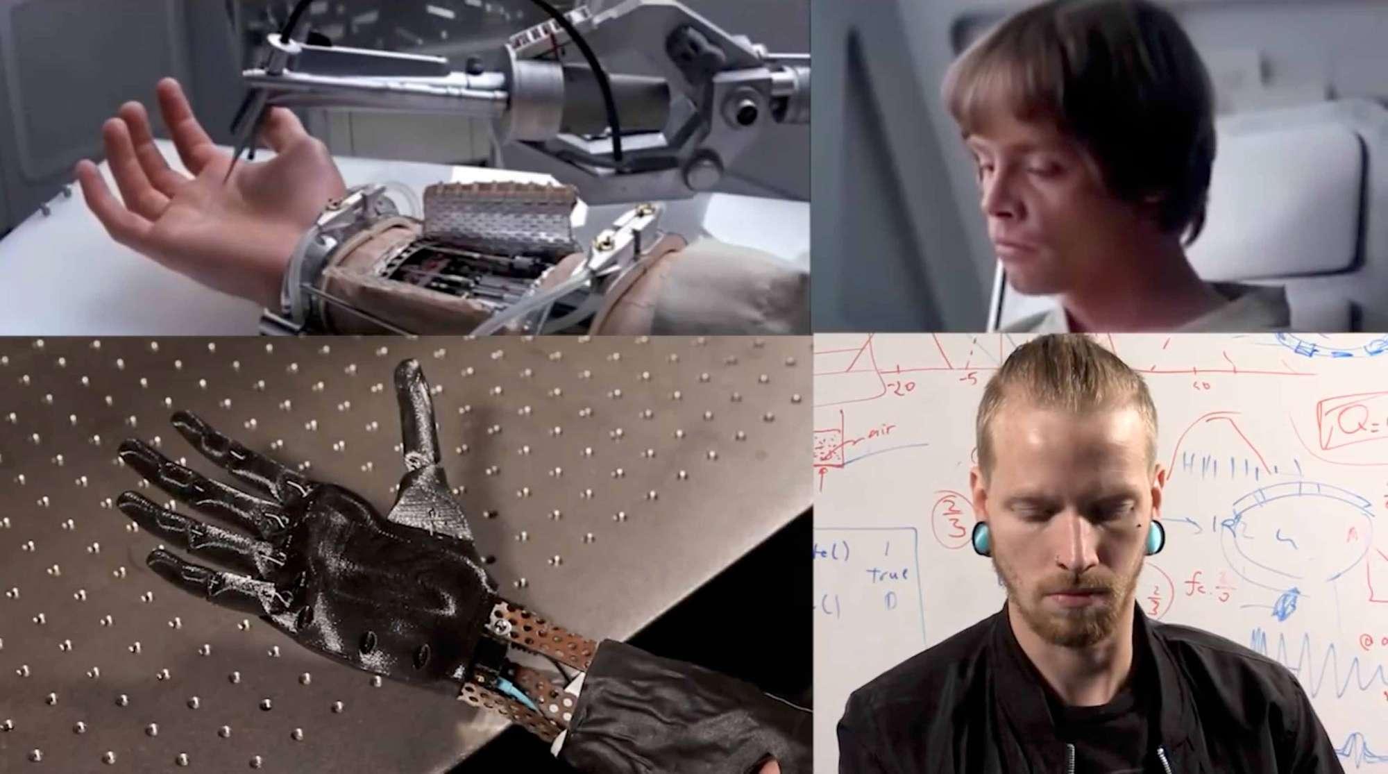Usa, arriva la mano artificiale ispirata a Star Wars