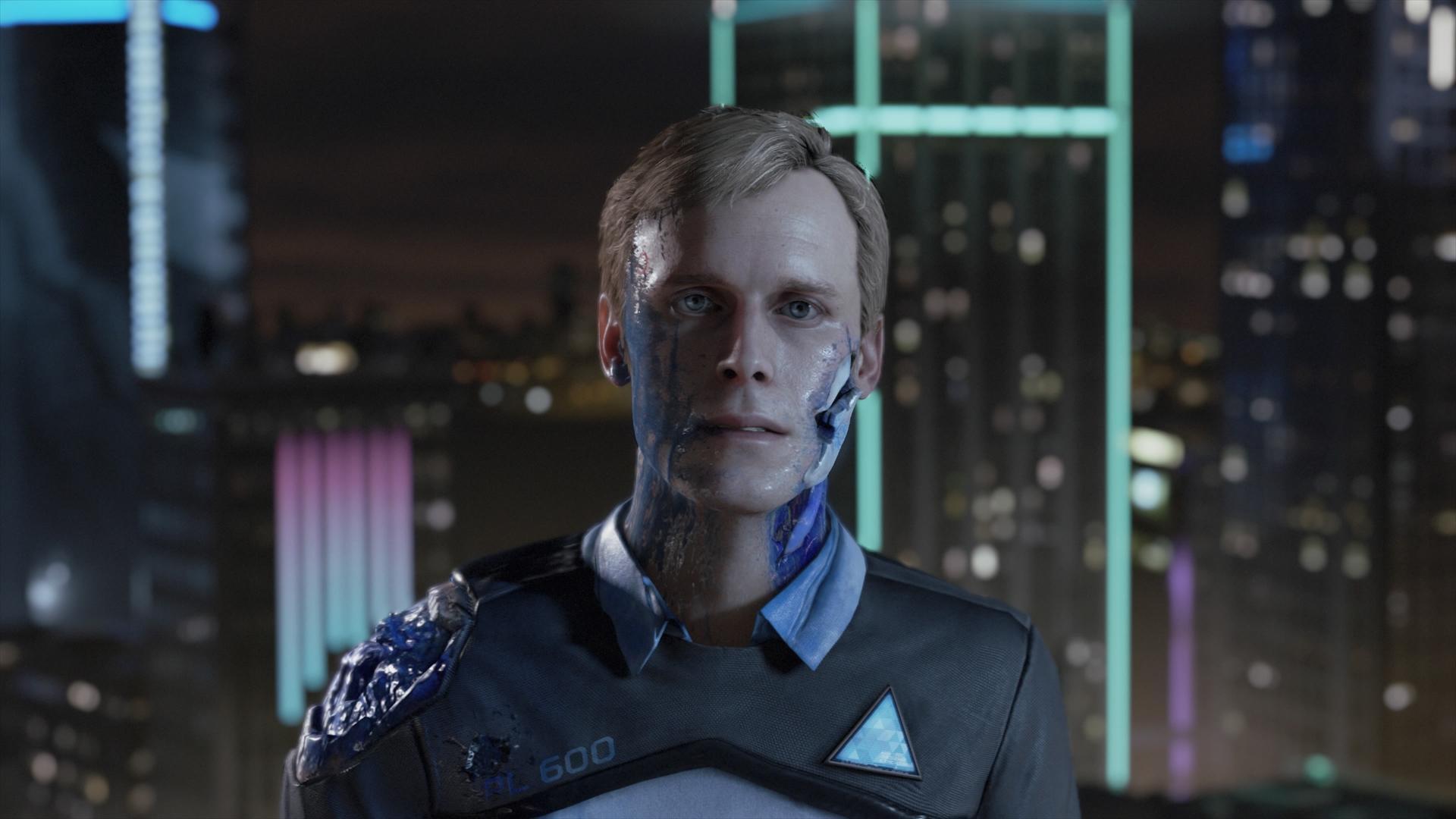 Immagini dalla versione giapponese di Detroit: Become Human