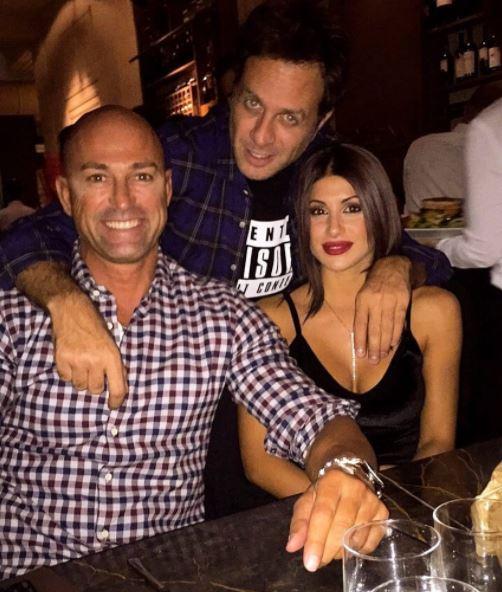 Bettarini e la Venier a pranzo insieme: cosa dirà Simona Ventura?