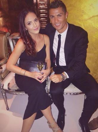 Cristiano Ronaldo, flirt con una modella