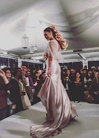 507715575c0b Cecilia Rodriguez prova l abito da sposa - Tgcom24