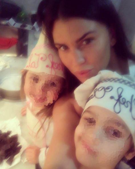 Claudia Galanti ricorda la figlia Indila su Instagram