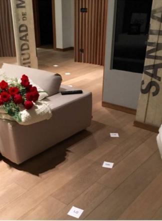 Eleonora pedron messaggi d 39 amore sul pavimento tgcom24 - Instagram messaggio letto ...