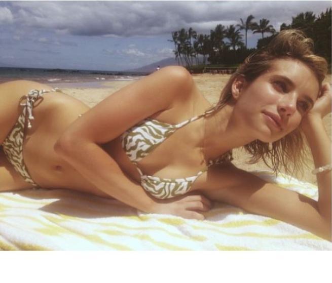 Emma Roberts, che bikini da urlo!